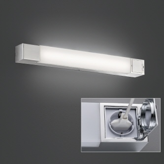 "LED ""Plus-Tube"" Chrom, IP44"